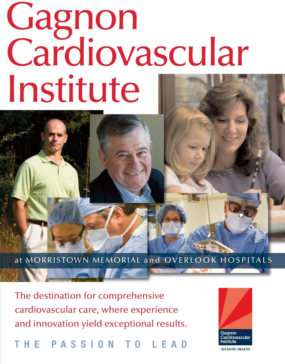 destination for comprehensive cardiovascular care,