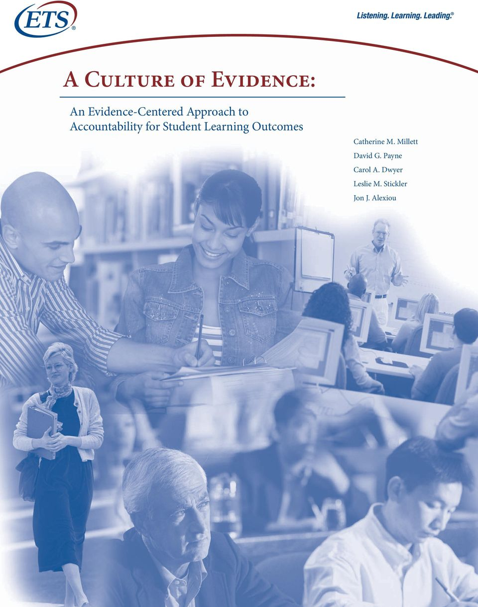 Learning Outcomes Catherine M. Millett David G.