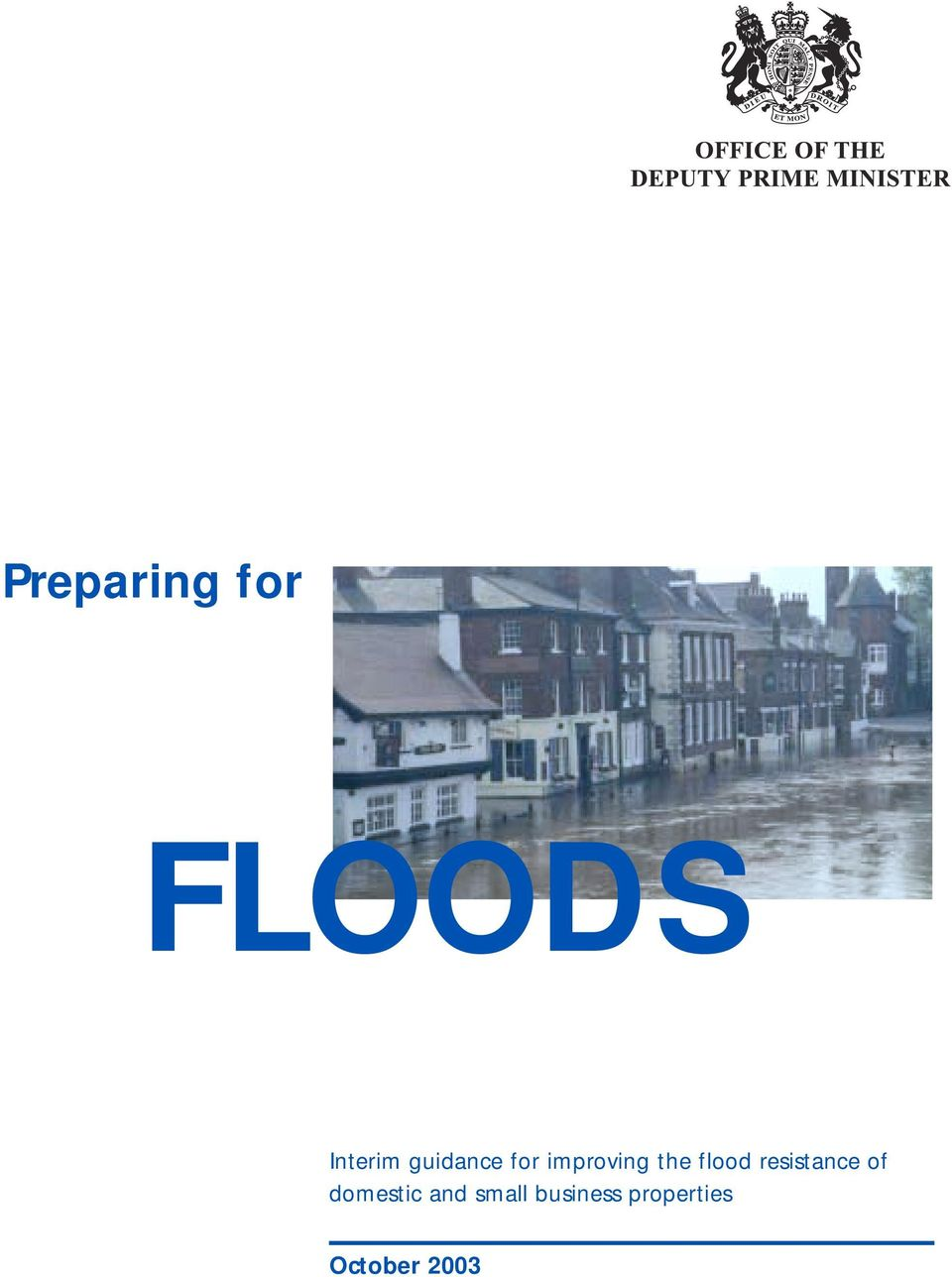 flood resistance of domestic