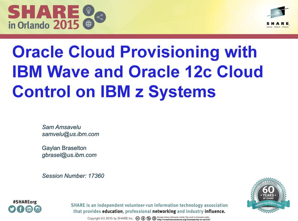 Wave and Oracle 12c