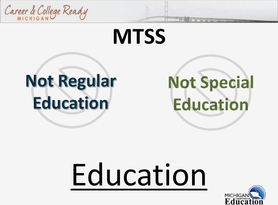 Education Not