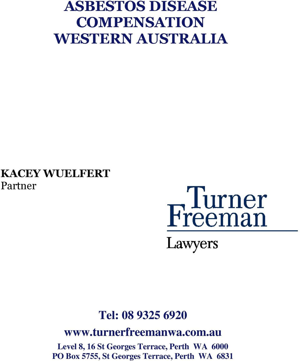 turnerfreemanwa.com.