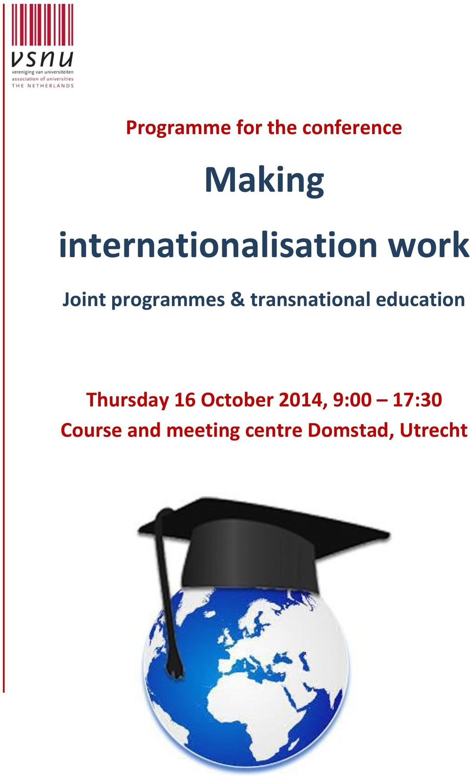 transnational education Thursday 16 October