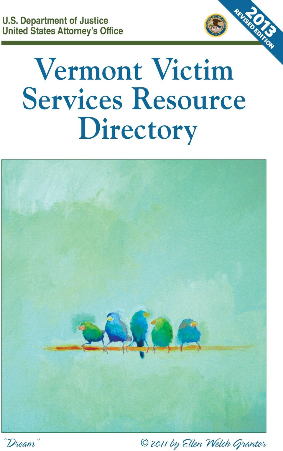 EDITION Vermont Victim Services