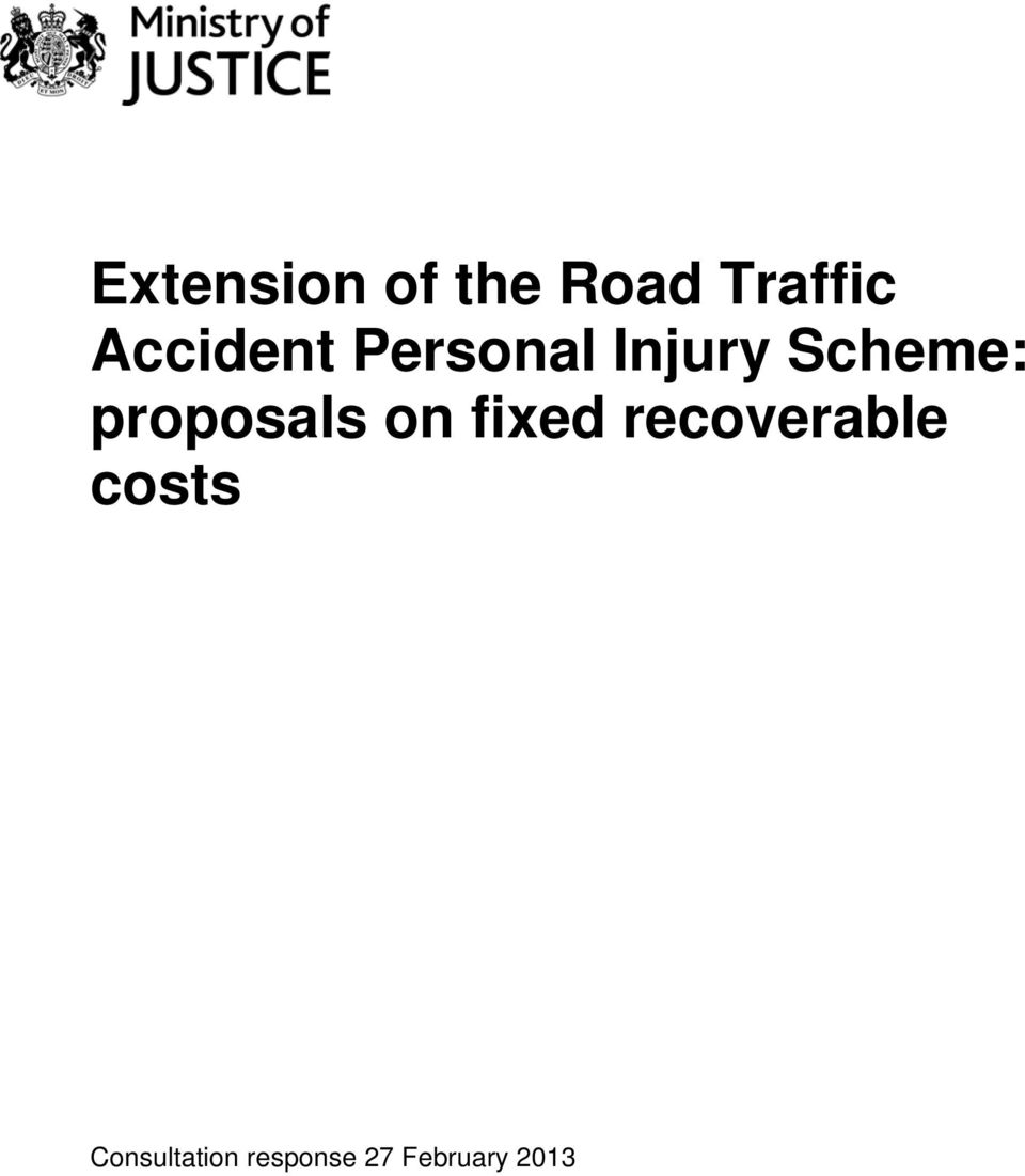 proposals on fixed recoverable