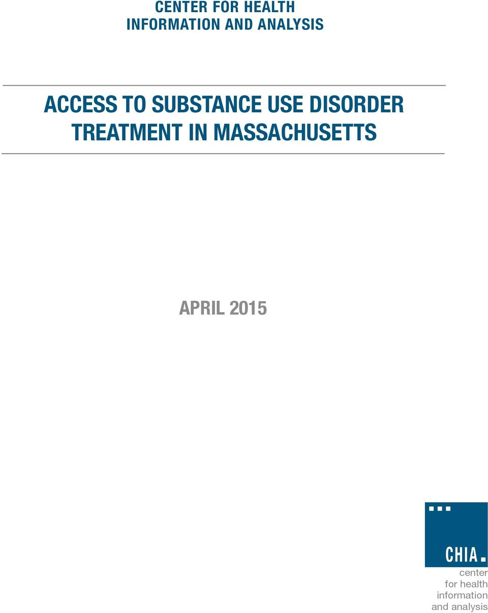 ACCESS TO SUBSTANCE USE