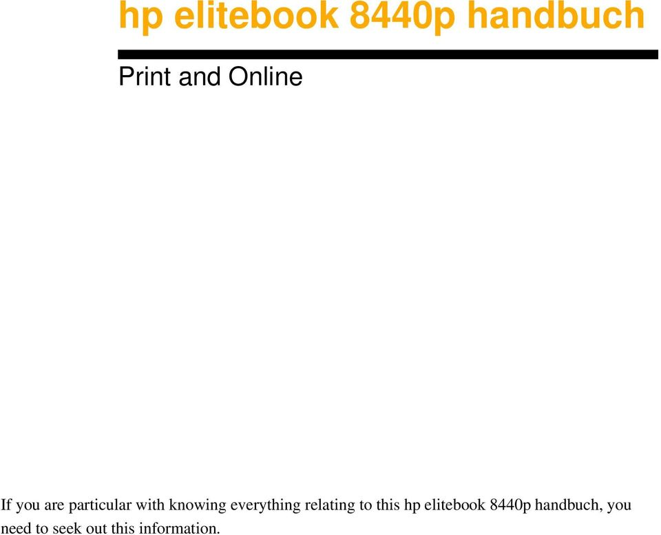 relating to this hp elitebook 8440p