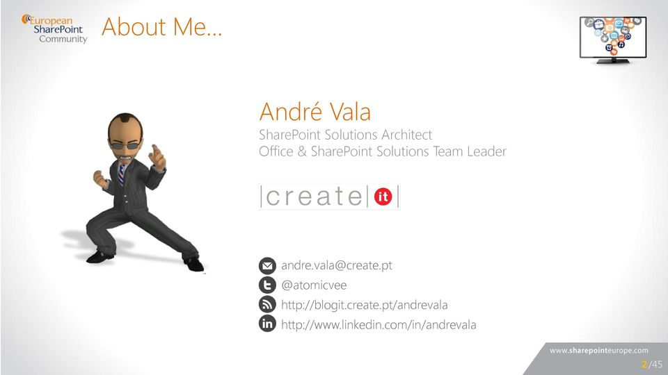 Office & SharePoint Solutions Team Leader andre.