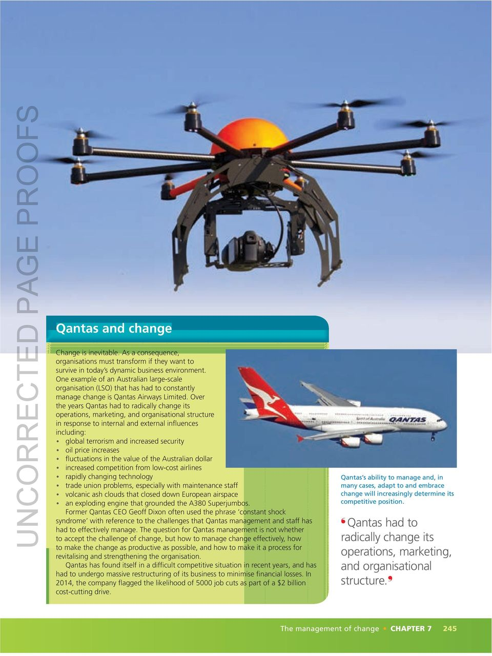 qantas external influences Here, in this report external/internal influences that affect consumer purchasing  decisions are evaluated along with the discussion of how these.