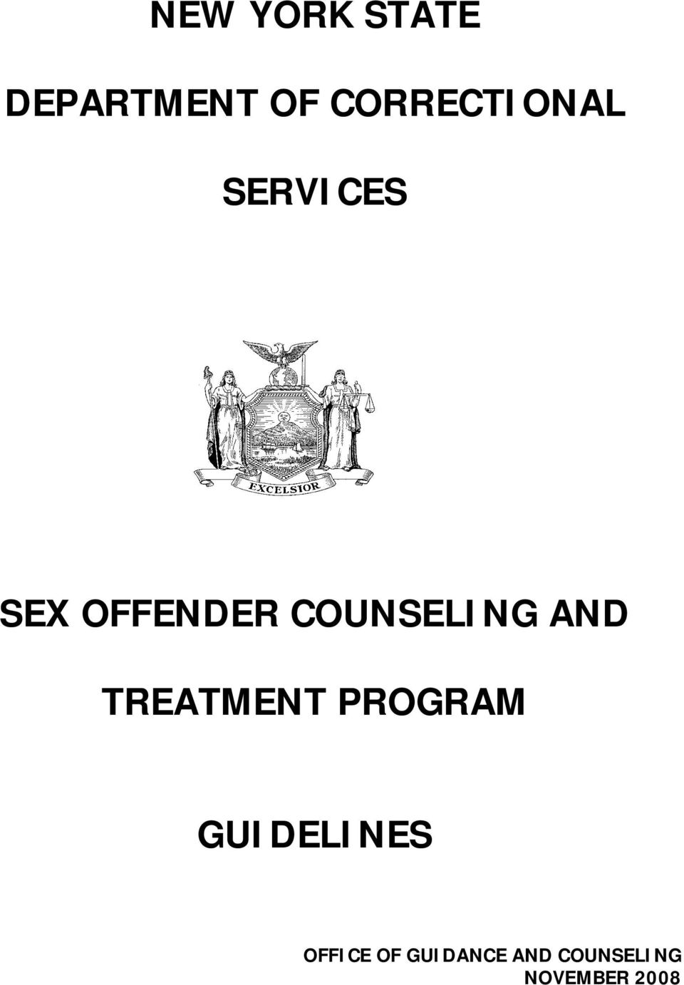 COUNSELING AND TREATMENT PROGRAM