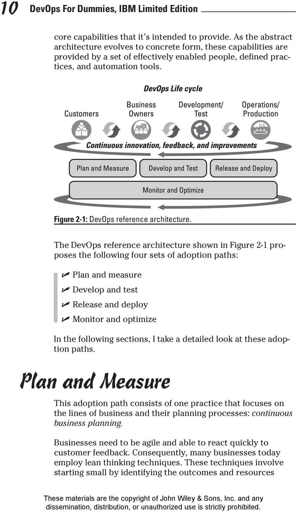 Figure 2-1: DevOps reference architecture.