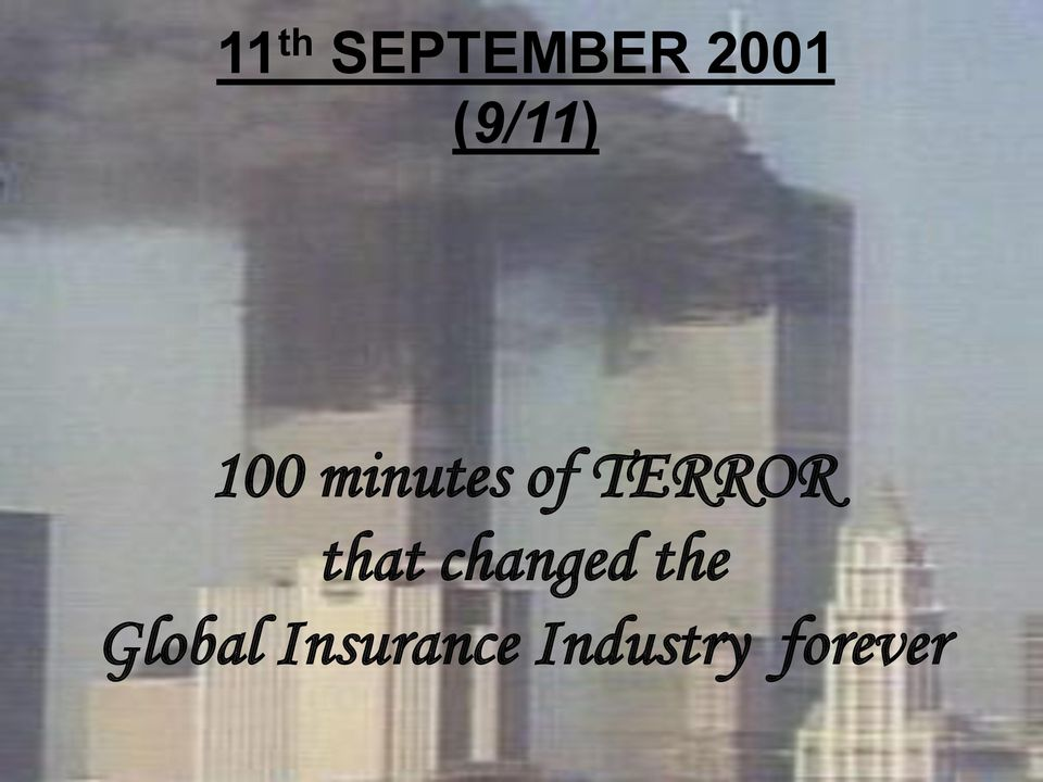 TERROR that changed the