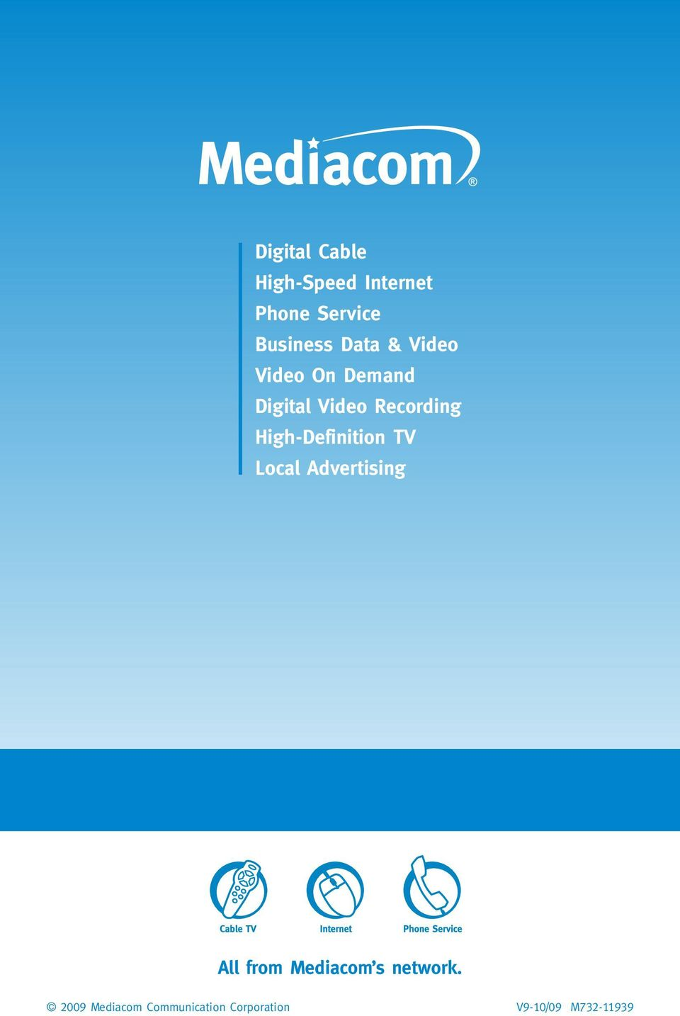 High-Definition TV Local Advertising All from Mediacom s