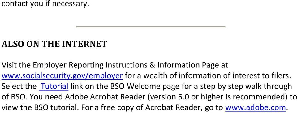 gov/employer for a wealth of information of interest to filers.