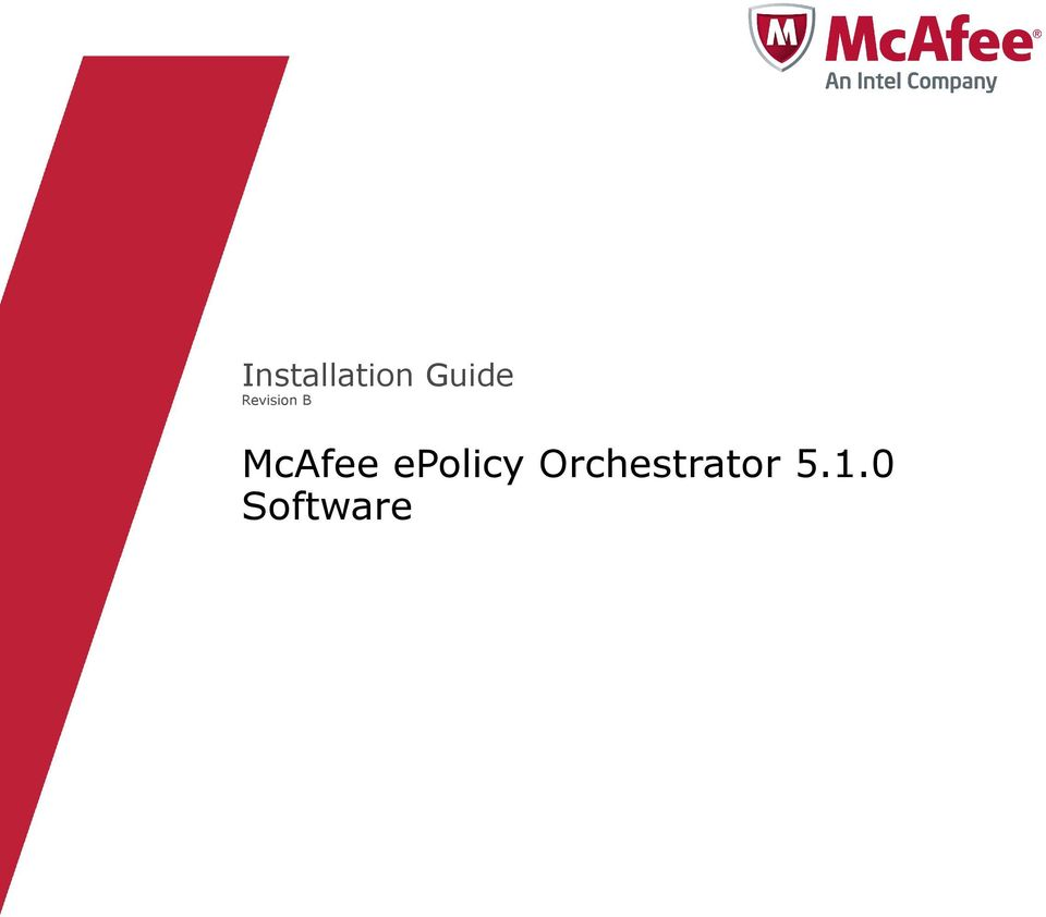 McAfee epolicy