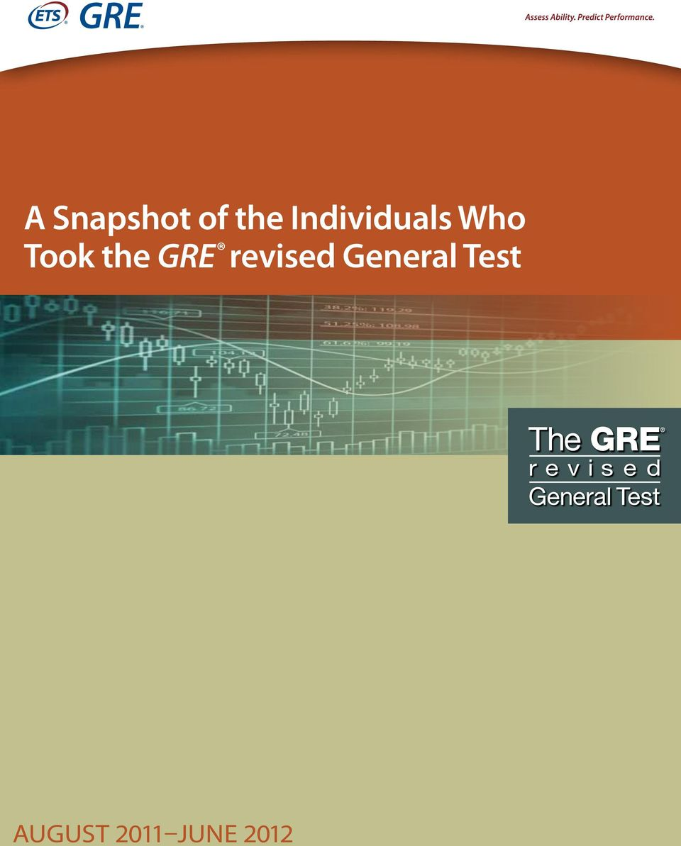 the GRE revised General