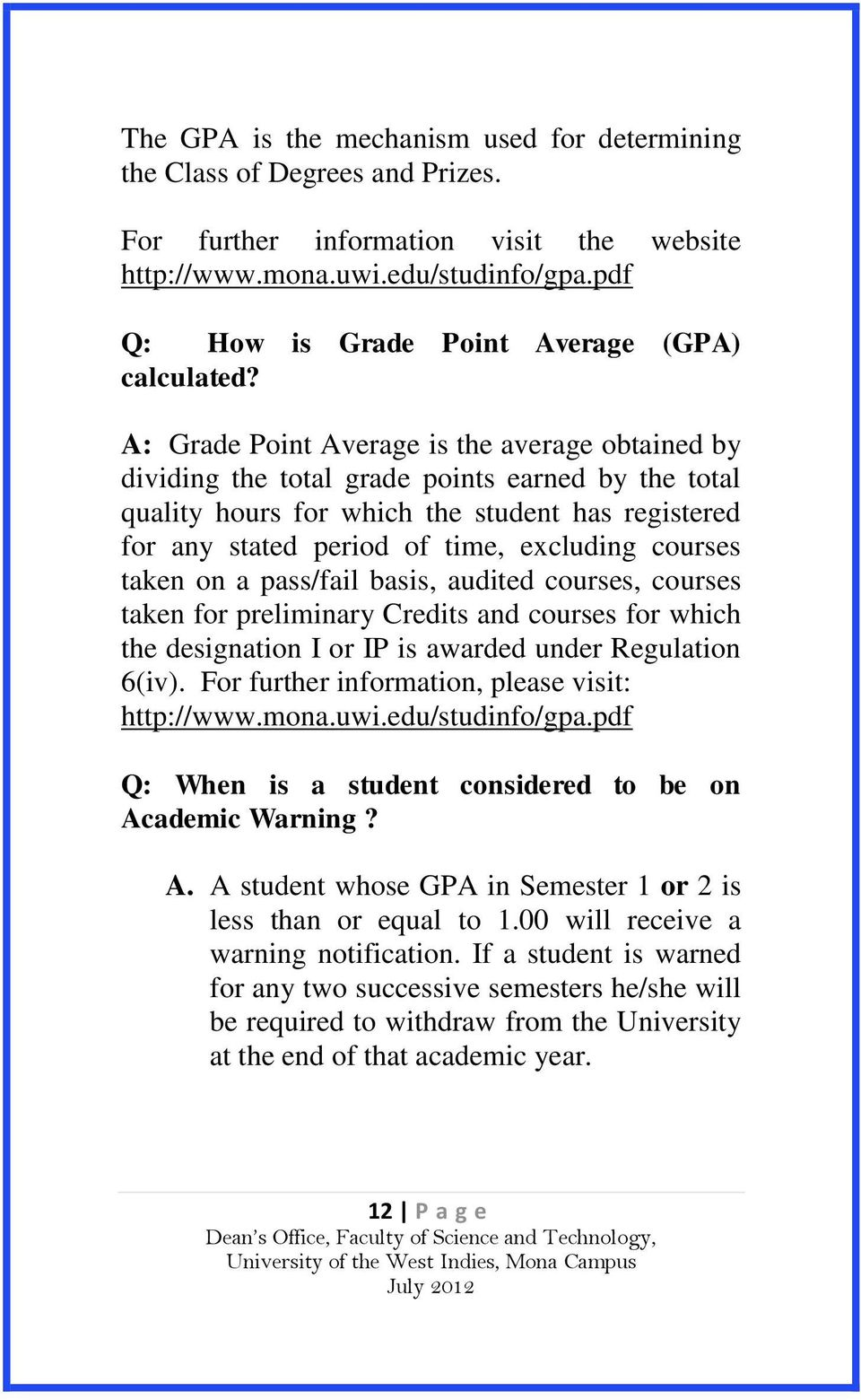 How To Calculate Gpa Cumulative A: Grade Point Average Is The Average  Obtained By Dividing