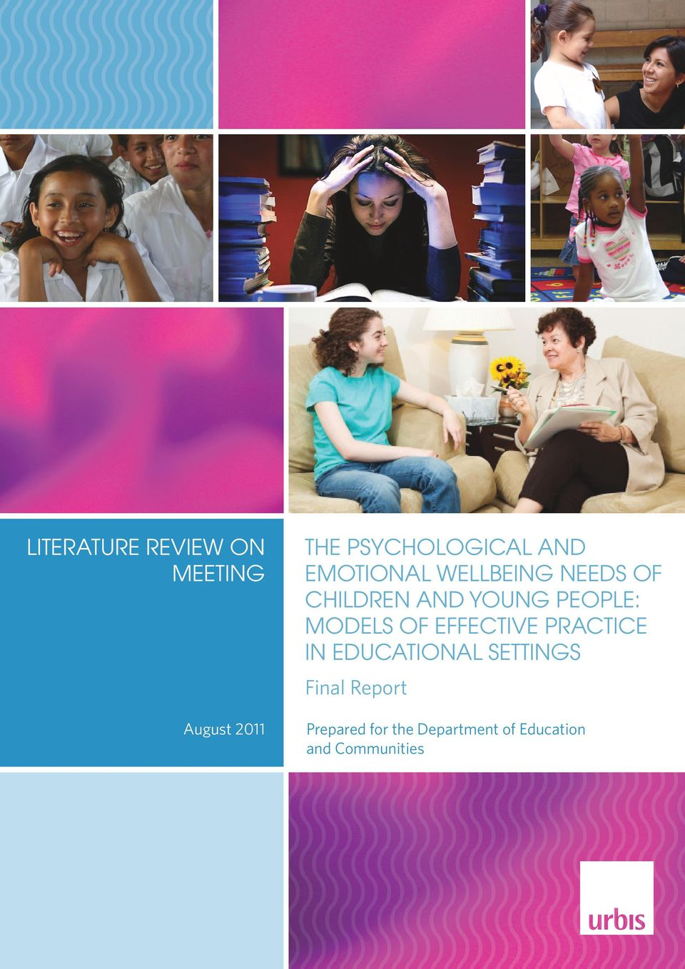 MODELS OF EFFECTIVE PRACTICE IN EDUCATIONAL SETTINGS Final
