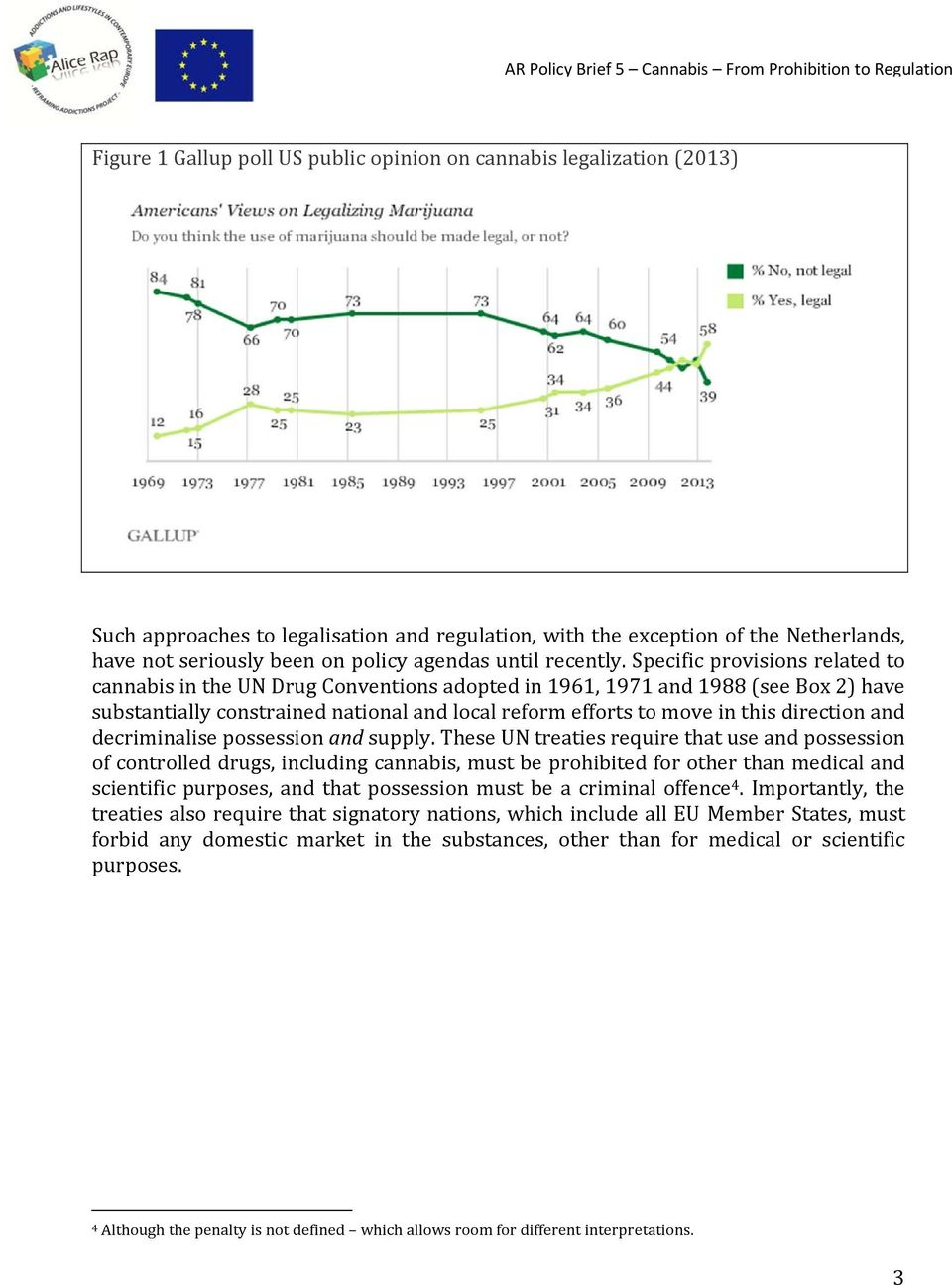 Specific provisions related to cannabis in the UN Drug Conventions adopted in 1961, 1971 and 1988 (see Box 2) have substantially constrained national and local reform efforts to move in this