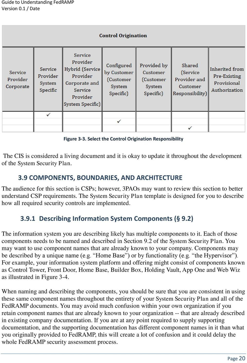 2) The information system you are describing likely has multiple components to it. Each of those components needs to be named and described in Section 9.2 of the System Security Plan.
