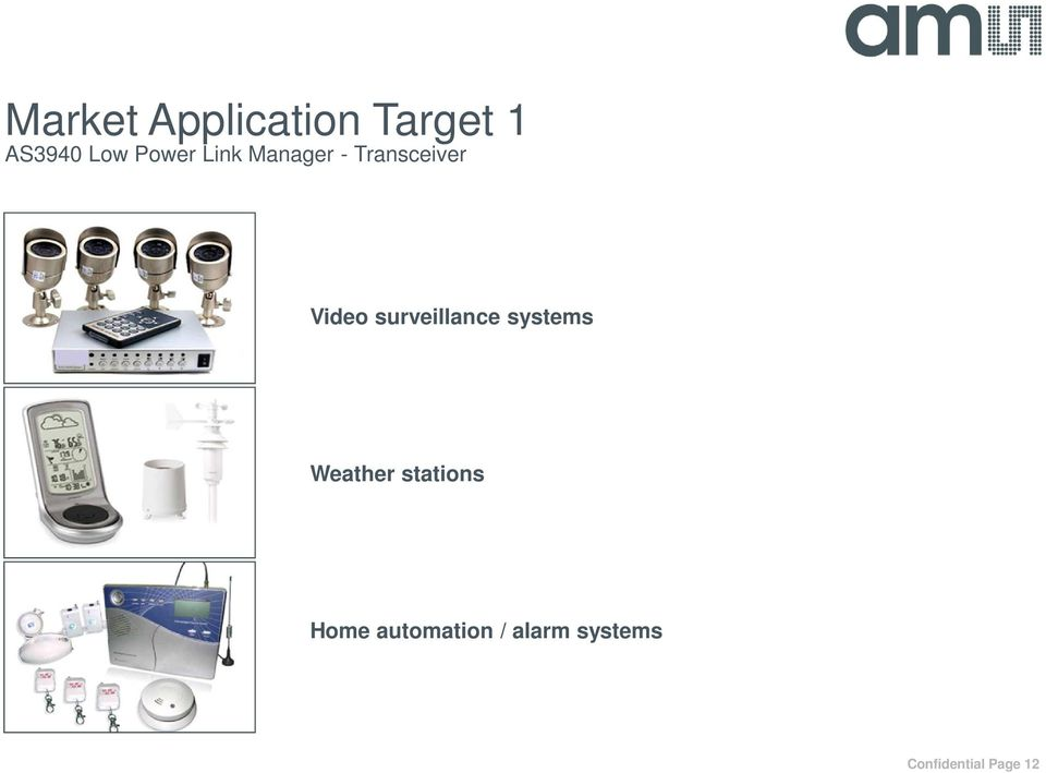 surveillance systems Weather stations