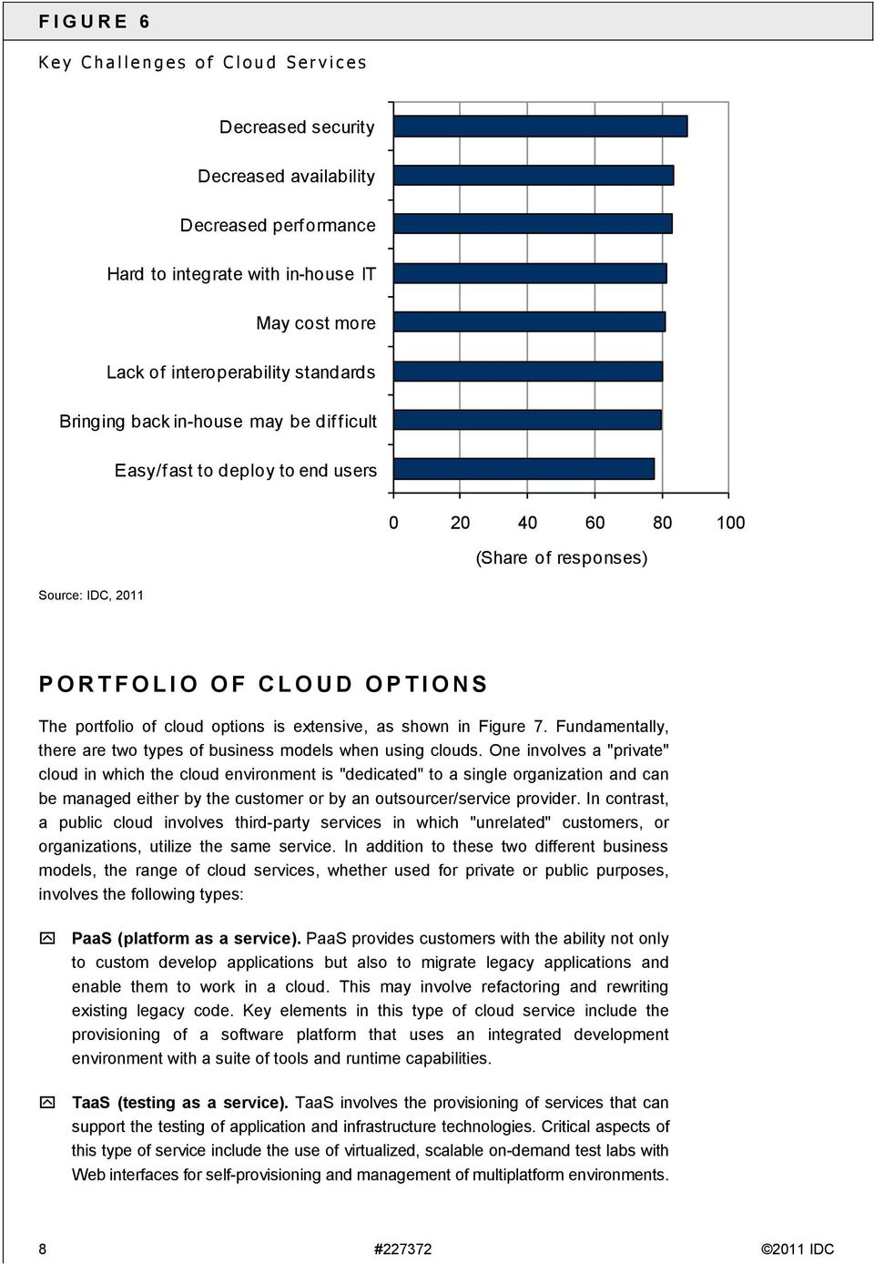 of cloud options is extensive, as shown in Figure 7. Fundamentally, there are two types of business models when using clouds.