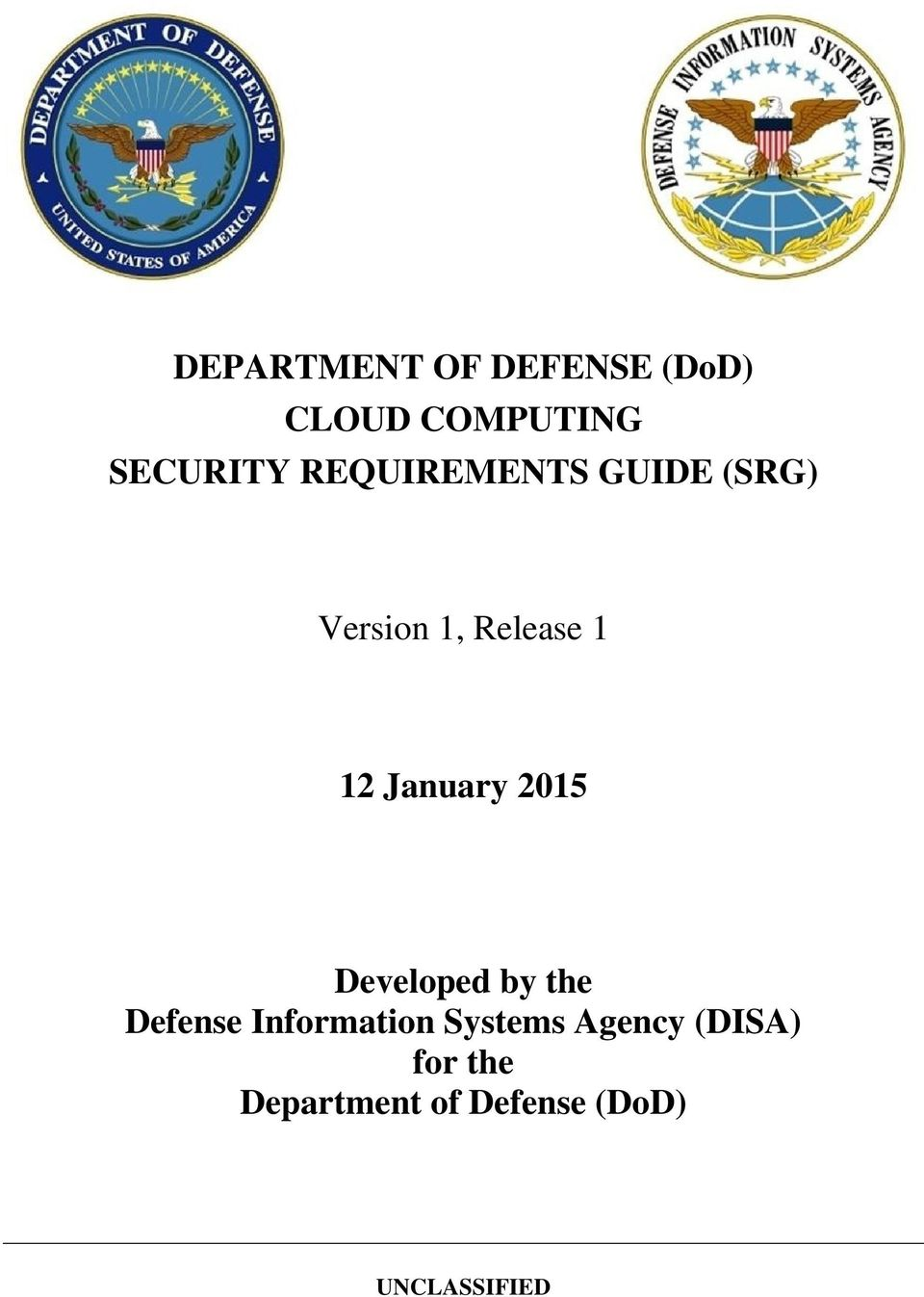 January 2015 Developed by the Defense Information