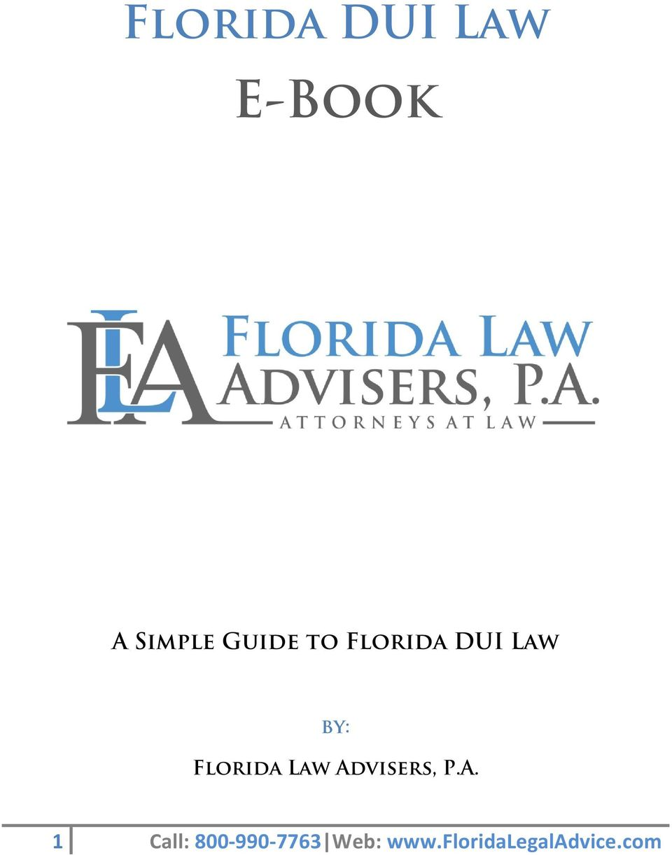 Florida Law Ad