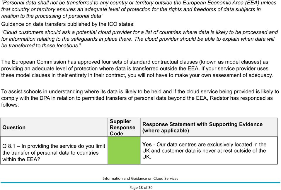 countries where data is likely to be processed and for information relating to the safeguards in place there.