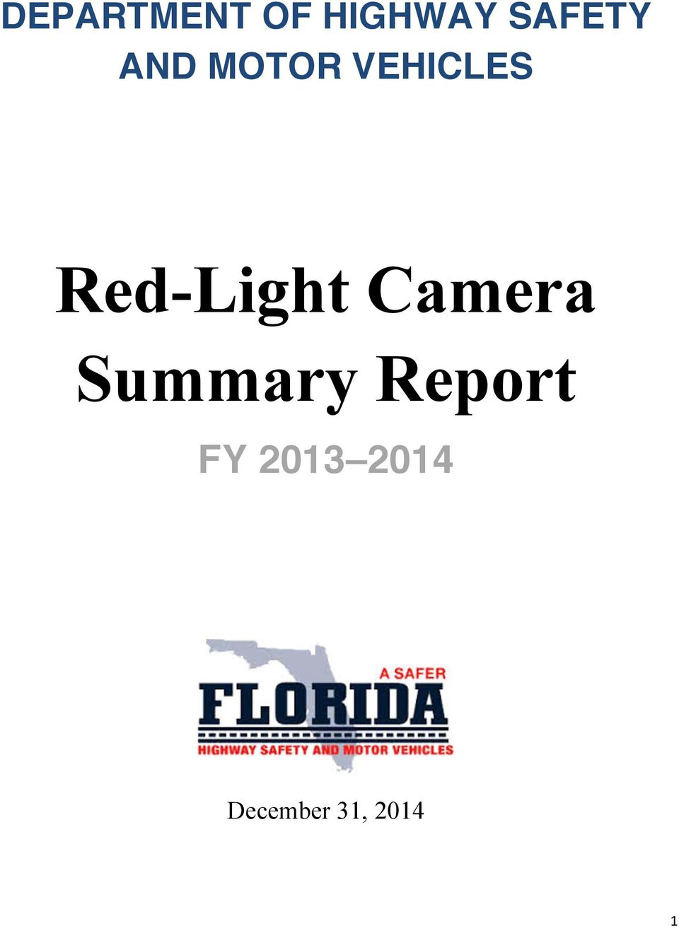 Red-Light Camera Summary