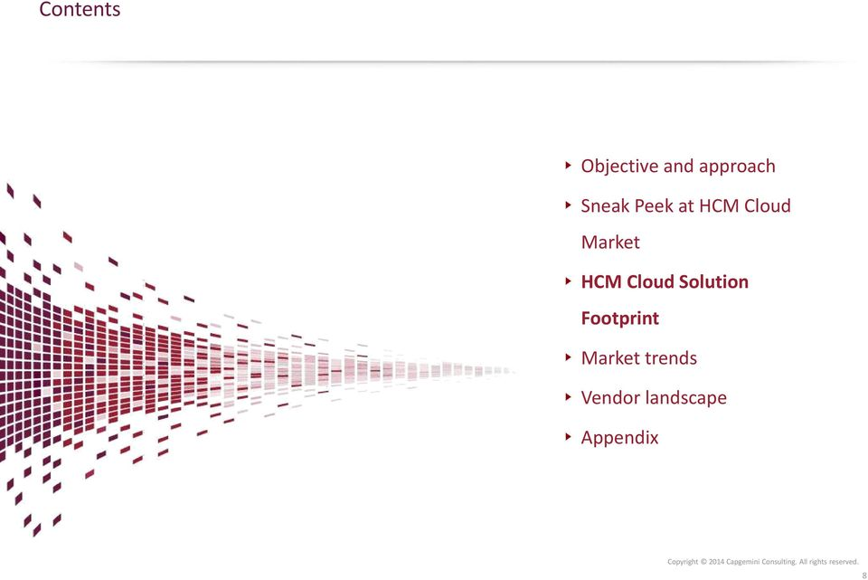 HCM Cloud Solution Footprint