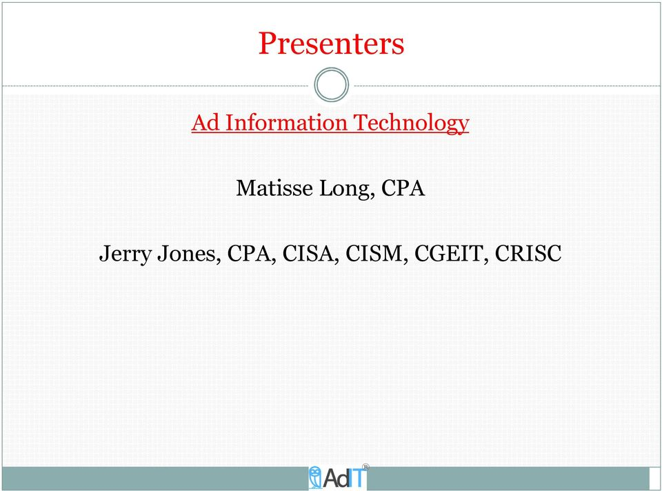 Matisse Long, CPA Jerry