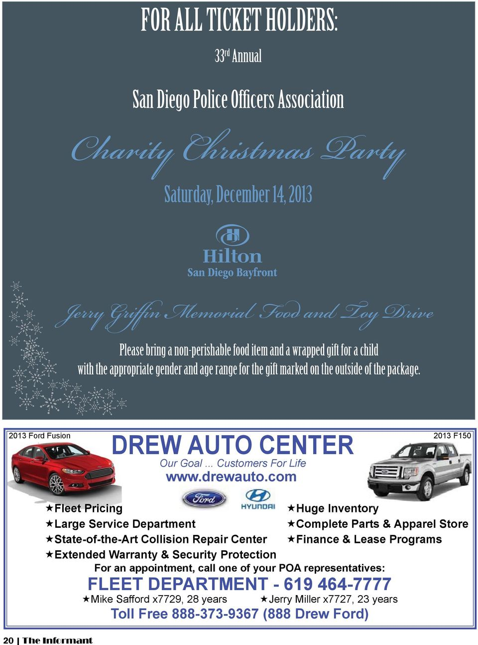 .. Customers For Life www.drewauto.
