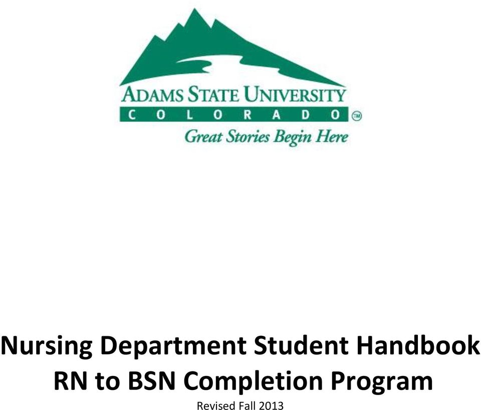 to BSN Completion