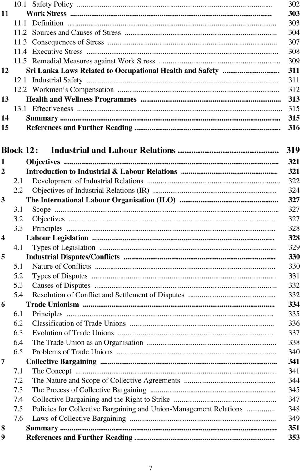 labour relations act summary pdf