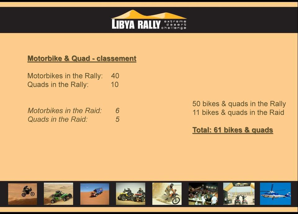 Raid: 6 Quads in the Raid: 5 50 bikes & quads in the