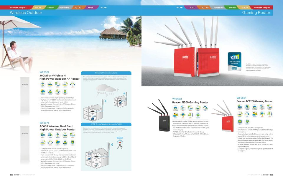 The CES Innovation Awards are based upon descriptive materials submitted to the judges.
