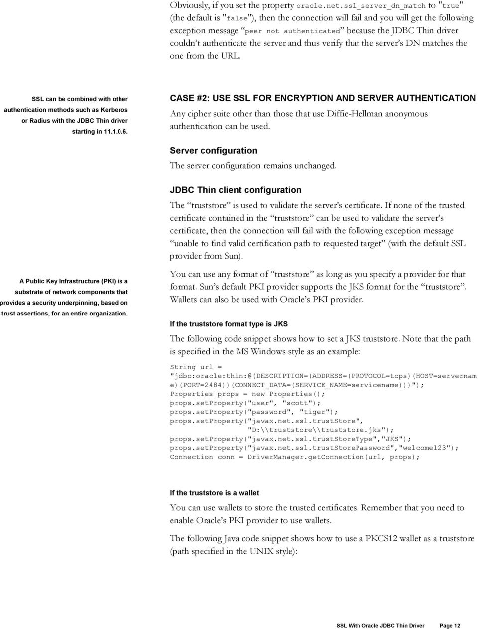 exception java oracle docs