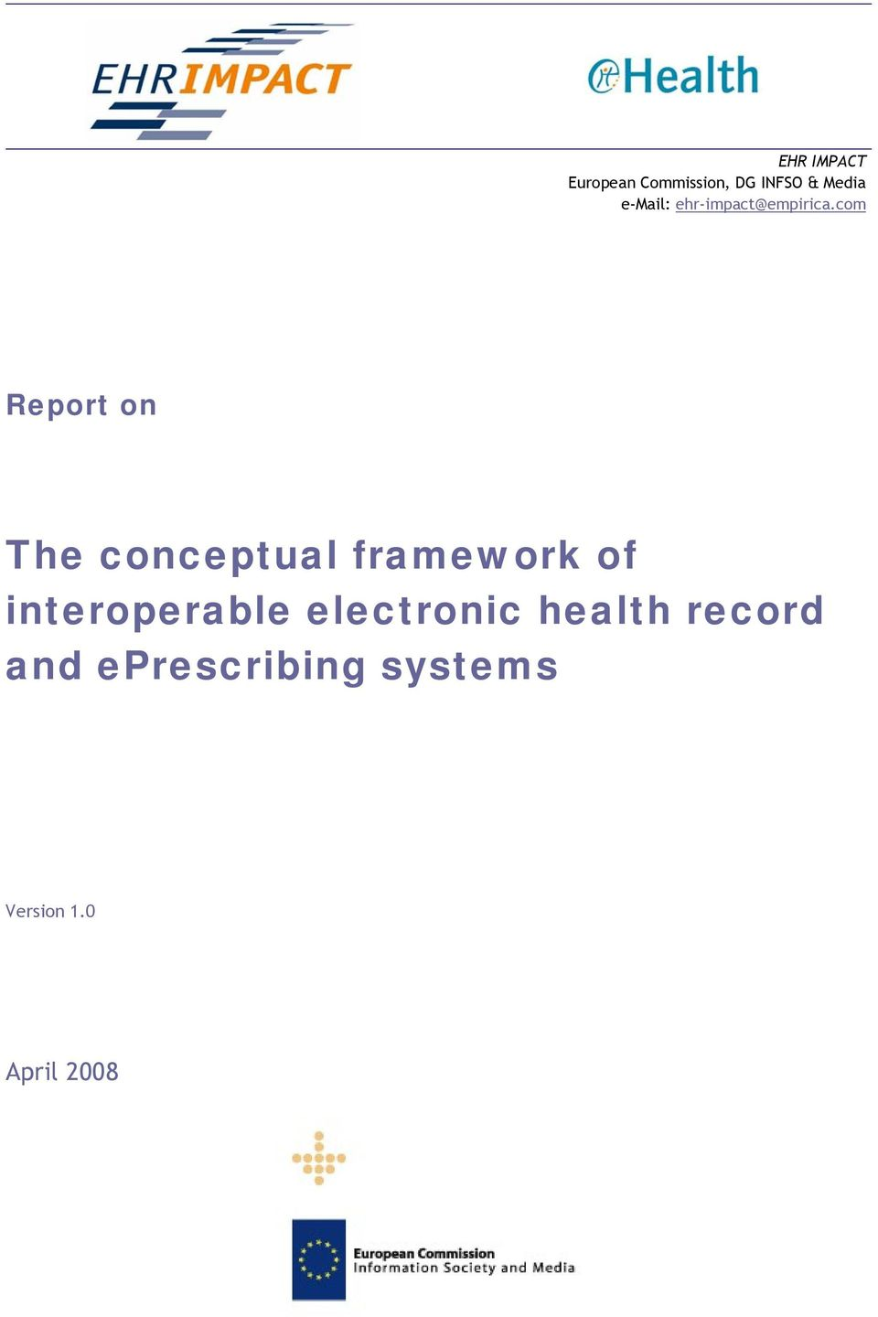 com Report on The conceptual framework of