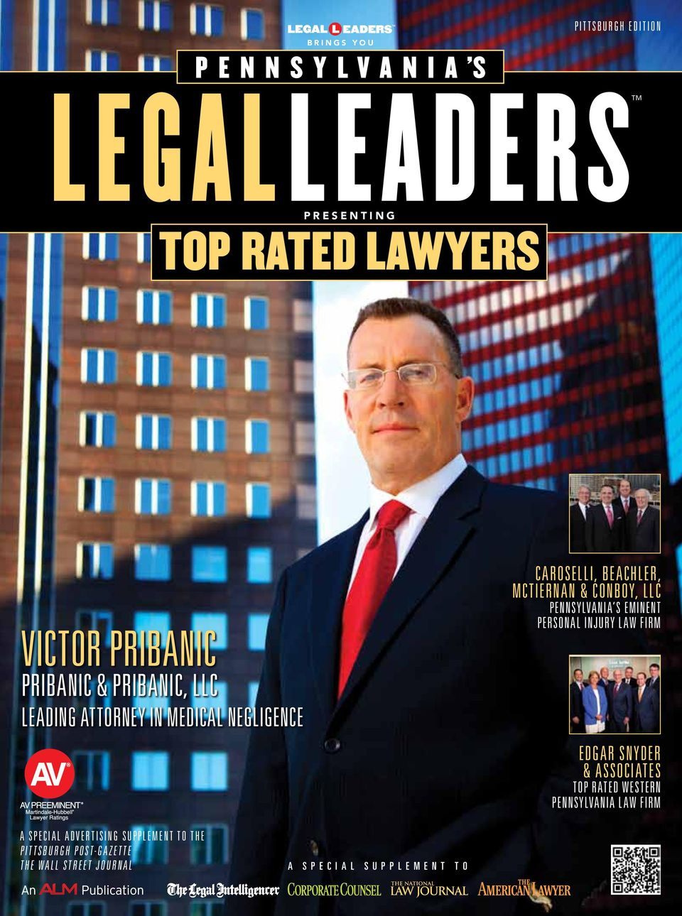 Eminent Personal Injury Law firm Edgar Snyder & Associates Top rated Western Pennsylvania Law Firm A Special