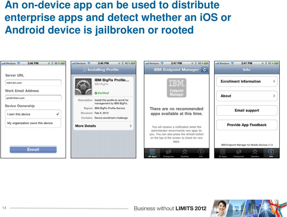 detect whether an ios or Android