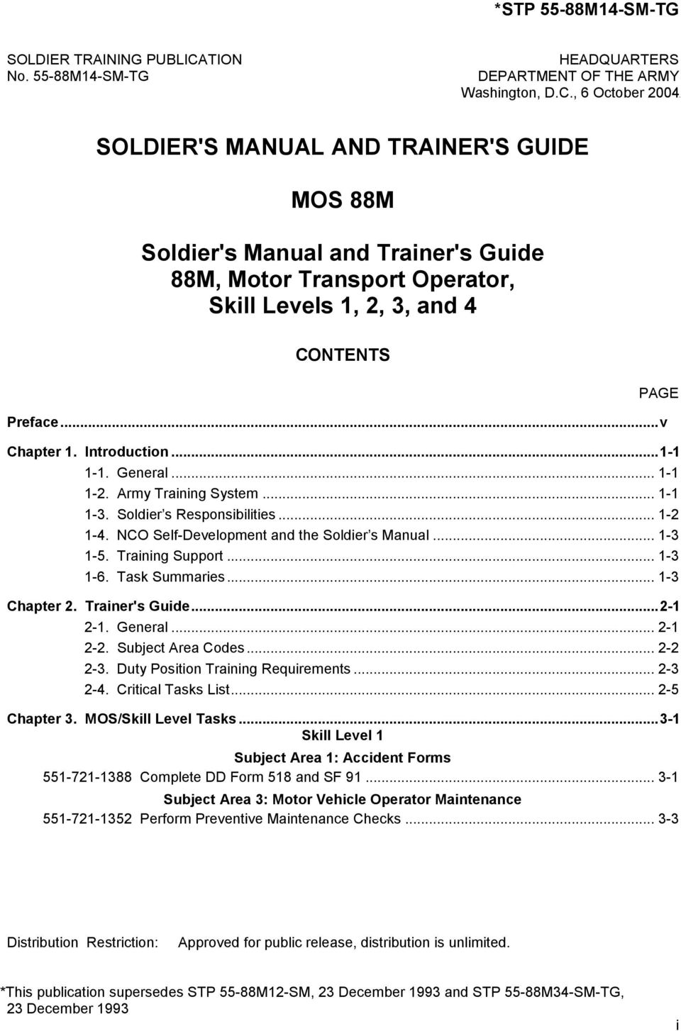 stp operation and maintenance manual