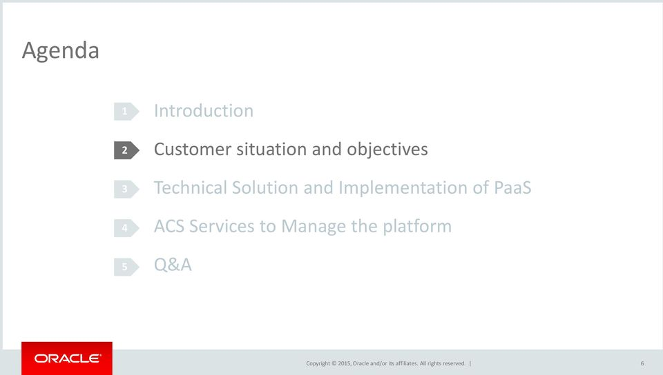 Technical Solution and Implementation
