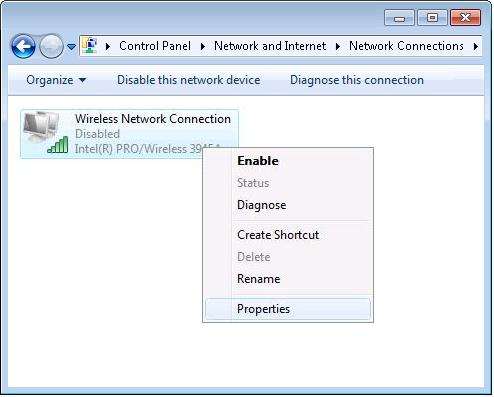 3. Click View network connections 4.