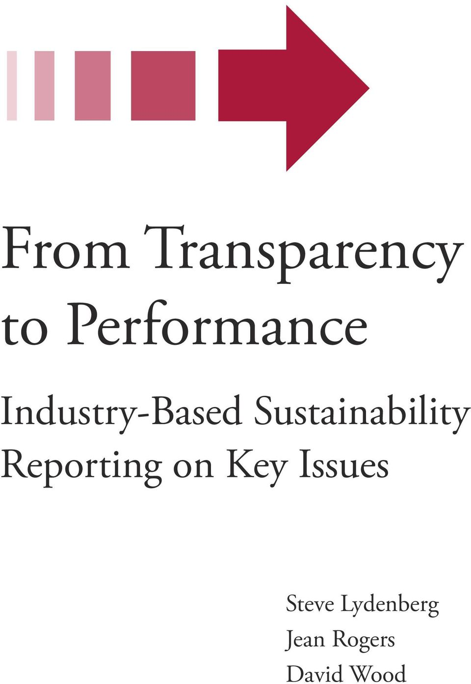 Sustainability Reporting on Key