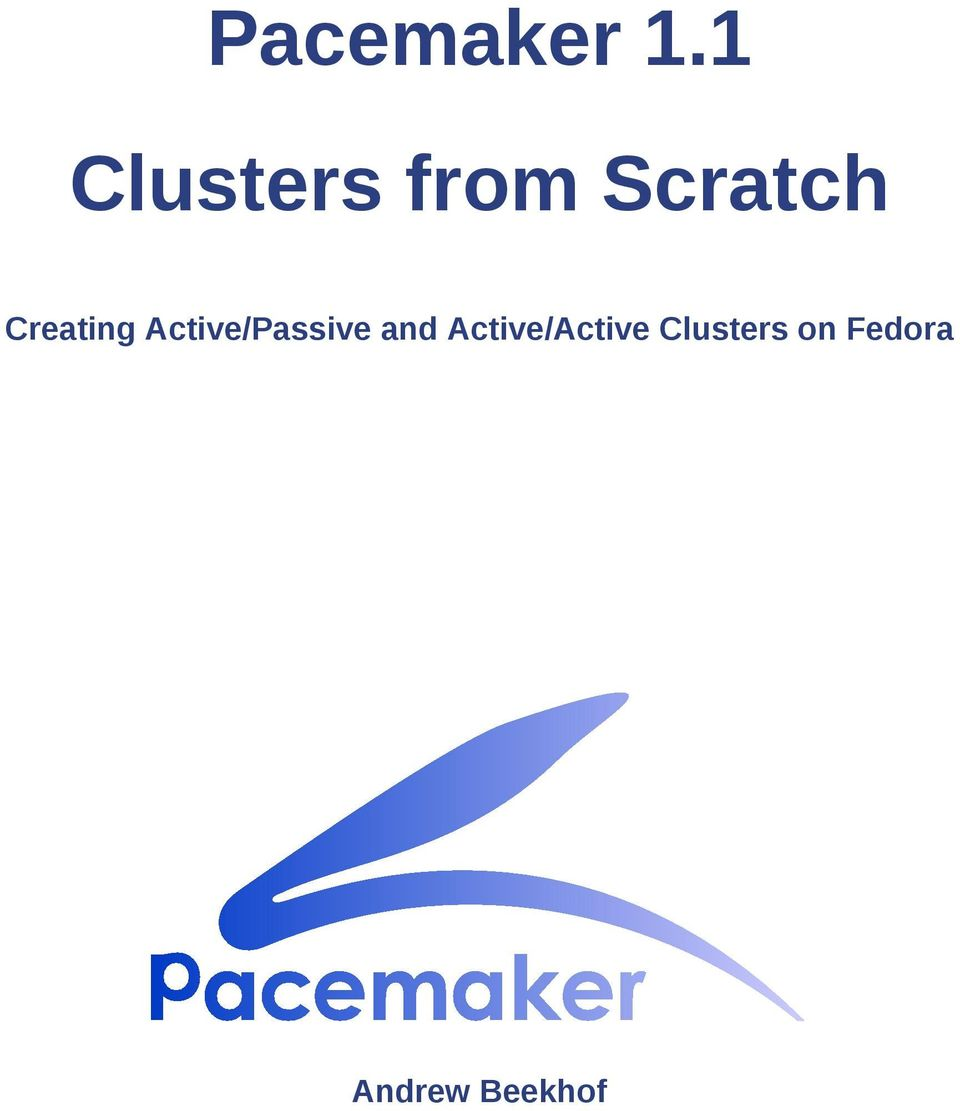 Creating Active/Passive and