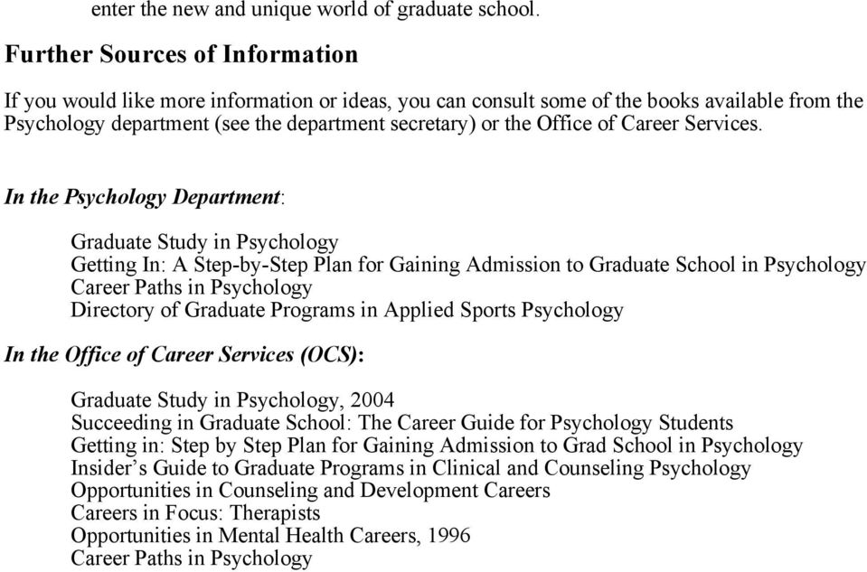 Career Services.