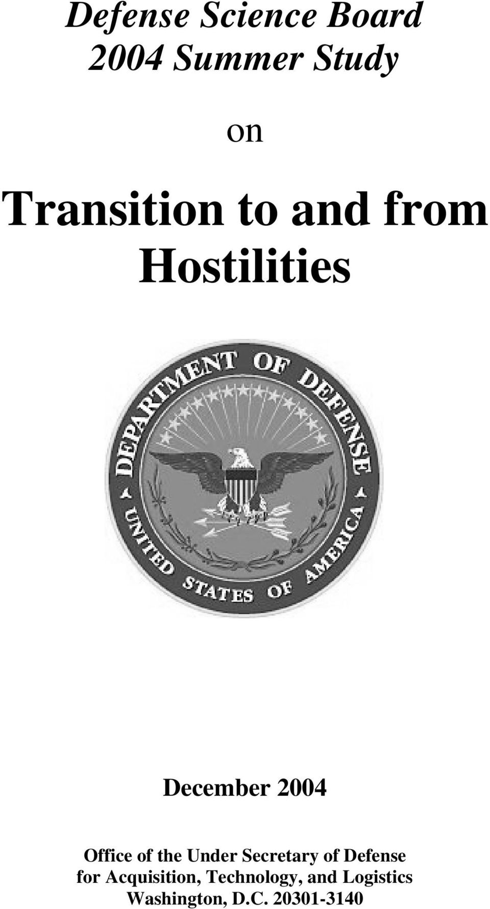 Office of the Under Secretary of Defense for