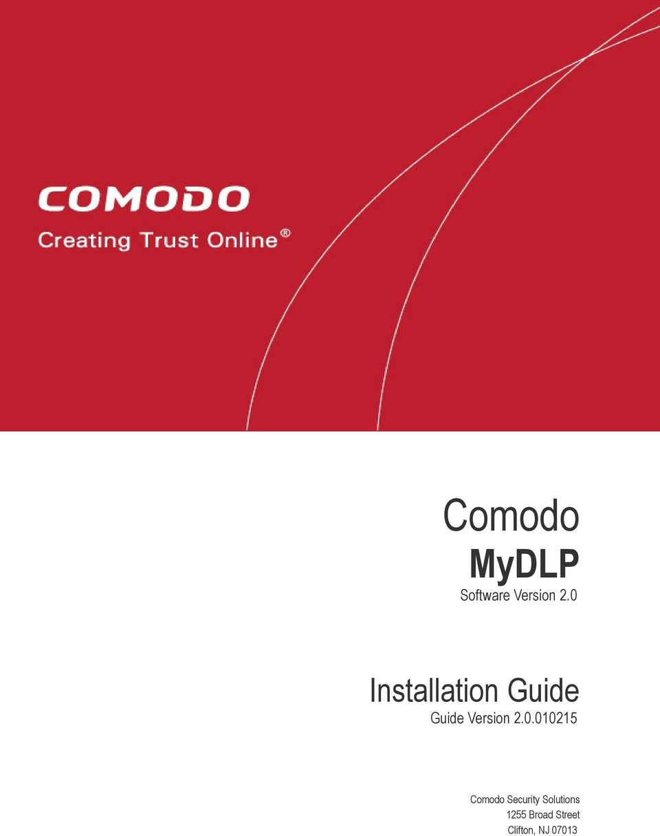 2.0.010215 Comodo Security