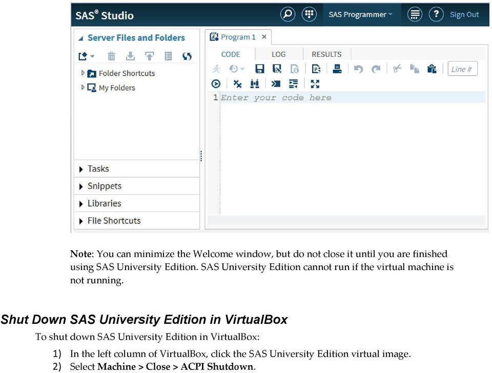 SAS University Edition: Installation Guide for Windows - PDF
